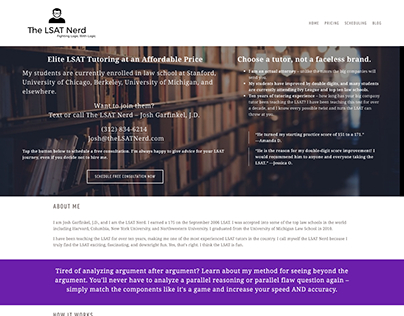 The LSAT Nerd site