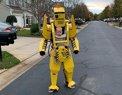 Eli's Mecha Pilot Halloween Costume