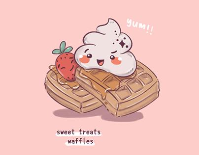 ILLUSTRATION + PRODUCT: Sweet Treats Buffet