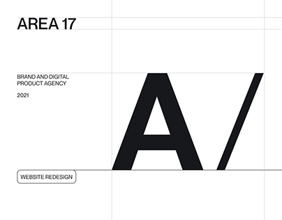 AREA 17 — Brand and digital product agency