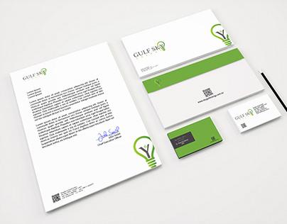 Gulf Sky Energy - Logo design