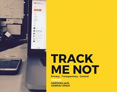 Systems Design - Track me not.