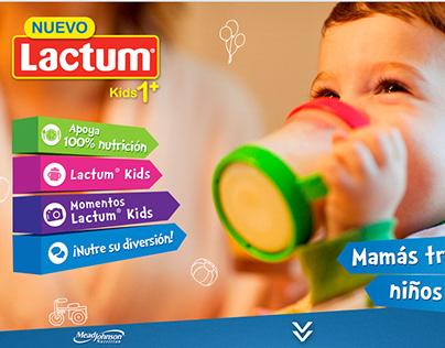 Lactum Milk Powder Product Website