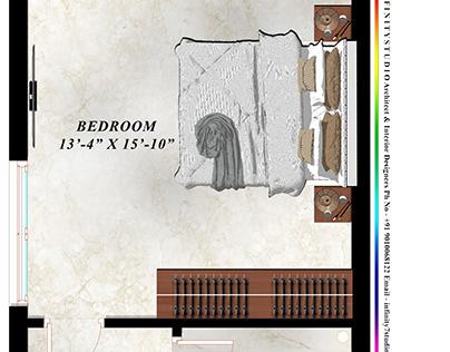 BedRoom Presentation Render