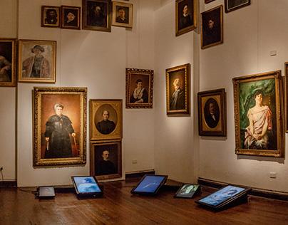 Video Instalación Digital / Museo Genaro Pérez.