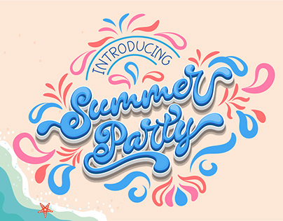 Summer Party Font