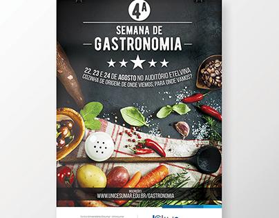 IV Semana de Gastronomia Unicesumar