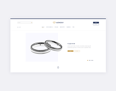 Harmony jewelry | UI Project