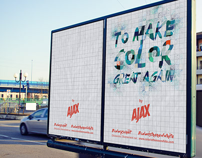 Print Campaign - Ajax Color is the new white