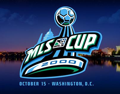 MLS Cup 2000 Brand Identity