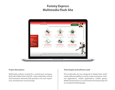 Fummy Express Interactive Site