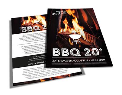 Flyer BBQ 20+