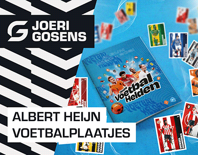 Albert Heijn Football Stickers & Posters
