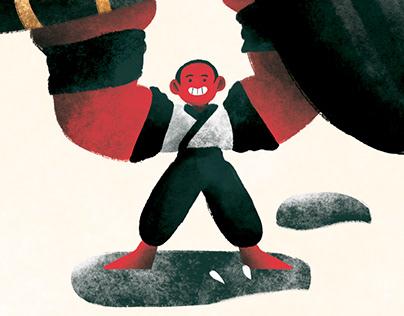 LA VIA DEL SAGGIO Children book