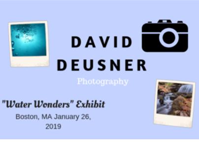 Water Wonders Press Release - David Deusner