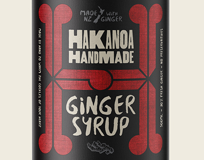 Hakanoa Handmade Packaging Labels (Concept)