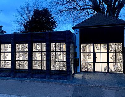 Beaulah Rd Studios Window Installation