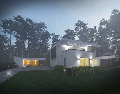 Private house visualization