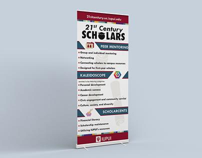 21st Century Scholars Banner
