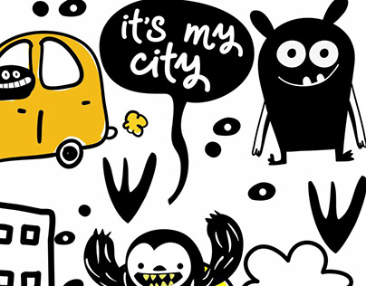 © Ugly but Cute Pattern Collection