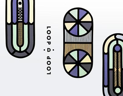 Loop D Loops | by Vicki Turner & Flora Jamieson