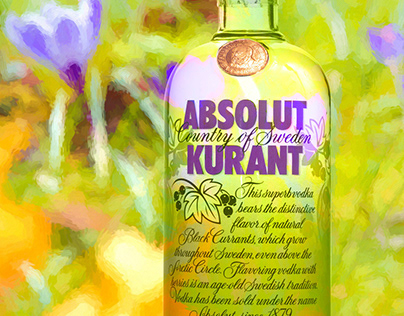 Absolut Vodka and me...