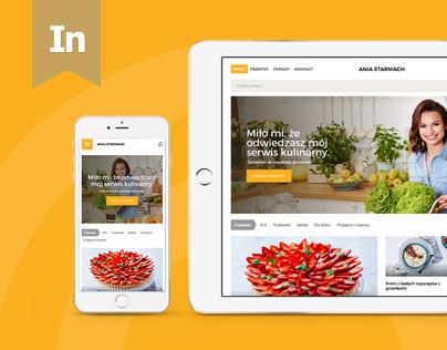 AniaStarmach.pl - Recipe Web Portal