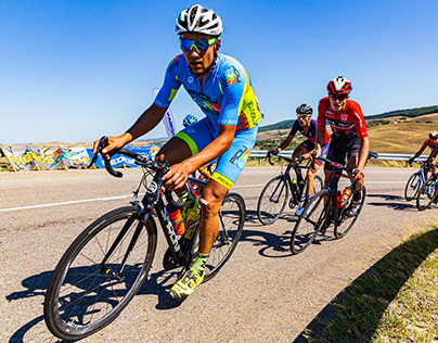 Smile and keep pedaling until the finish line!