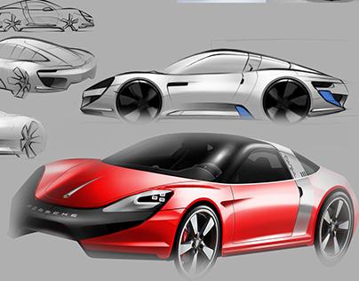 Porsche Targa Concept (In Progress)
