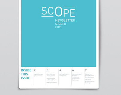 Scope - Corporate Newsletter