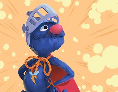 Planet-Pulp - Super Grover!