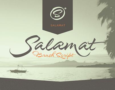 Salamat Typeface