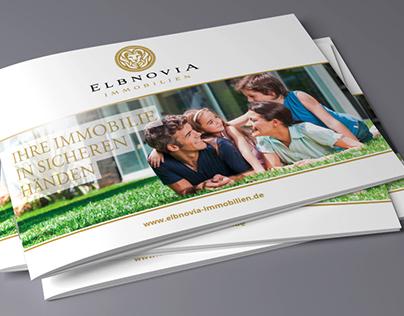 Broschürengestaltung für Immobilienunternehmen