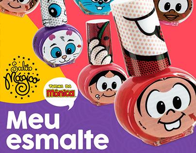 Meu Esmalte - Kids' nailpolish collection