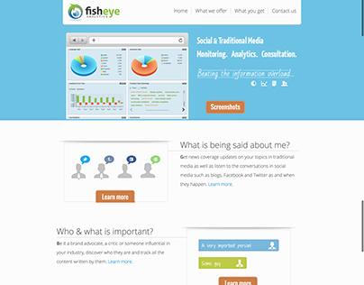 Fisheye analytics website