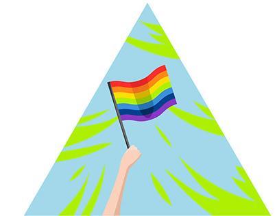 LGBTQ+ illustration