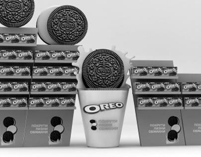 Oreo non-standart in-store (ideas)
