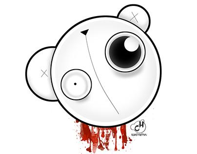 Baldwin The Unfortunate Bear - Character Design