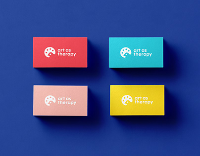 Art as Therapy branding