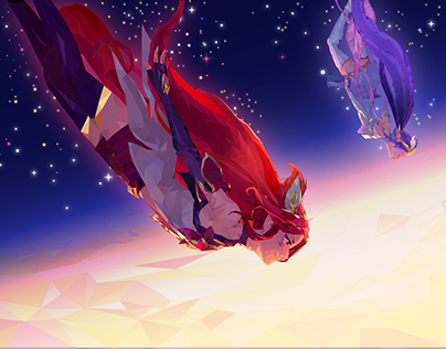 Star Guardians Low Poly