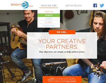 Bright Spot Creative Site Redesign