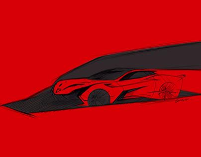 Transportation design : Ferrari