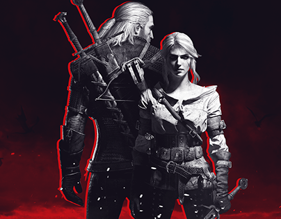 The Witcher III - Website and visual identity concept