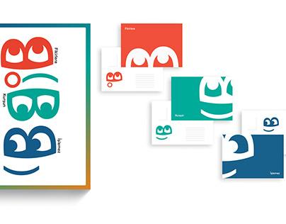 Tipografik Emoji Typographic Emoji