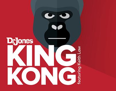 King Kong single, digital cover design