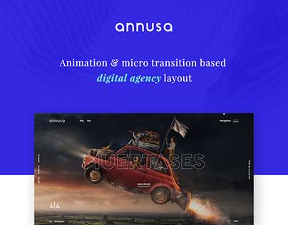Annusa | Modern Digital Bakery