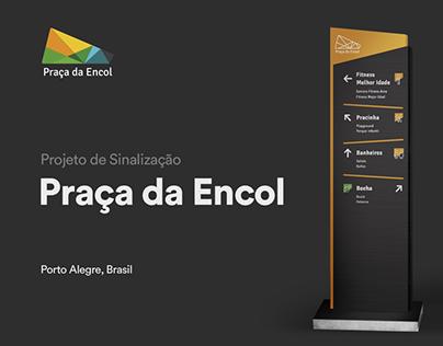 Praça da Encol | Wayfinding System