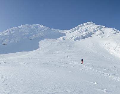 Skitouring weekend in West Tatras