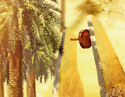 """Tazdaït and Tiresst """"palm and  well"""""""
