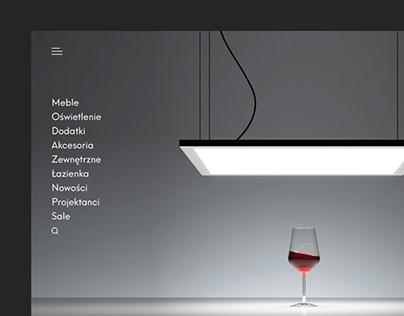 Rooms — Interior Design Store / e–Commerce